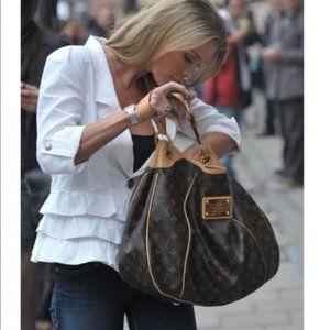 Auth Louis Vuitton Galliera Pm Tote Bag #4040L51B